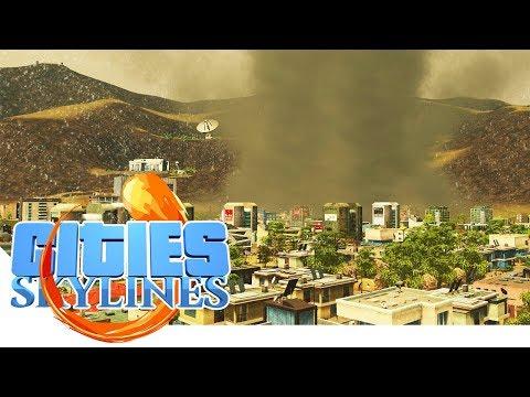TORNADO IN der Stadt! - Cities Skylines - Apocalypse City 15