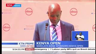 Kenya Open Golf Tournament gets a boost from Barclays Banks