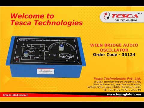 Wien Bridge Audio Oscillator Trainer