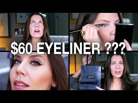 $60 EYELINER WTF? | First Impressions
