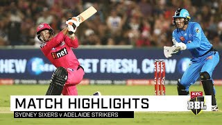 Josh Hazlewood made a successful return for his first KFC BBL match in nearly six years while Josh Philippe underlined his credentials with a magnificent unbeaten knock as the Sydney Sixers claimed a win against the Adelaide Strikers in Coffs Harbour
