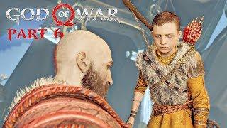 God Of War Walkthrough Part 6 - The Light Of Alfheim | PS4 Pro Gameplay