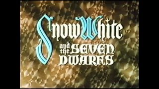 Opening to Snow White and the Seven Dwarfs 1994 VHS