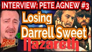 Nazareth's Pete Agnew On The Day They Lost Drummer Darrell Sweet
