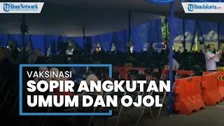 Ribuan Sopir Angkutan Umum dan Ojol di Kota Tangerang Telah Disuntik Vaksin Covid-19