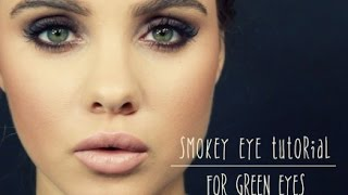 Smokey Eye Tutorial: For Green Eyes