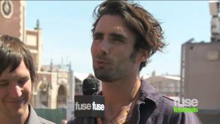 All-American Rejects On Kids in the Street - Bamboozle Festival 2012