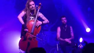 """Dead Man's Eyes"" - Apocalyptica ft. Franky Perez LIVE at The Fonda Theater - Los Angeles, CA 5/3/16"
