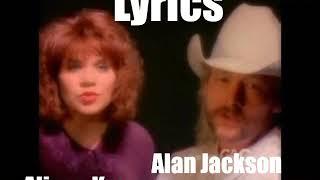 Alan Jackson & Alison Krauss - The Angels Cried 1993 Lyrics