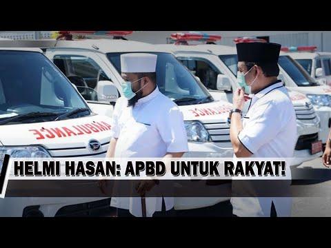 Ambulans Tiba, Helmi Hasan: APBD Untuk Rakyat!