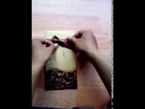 Video Cara mengikat pita