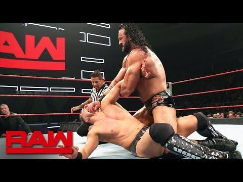 The Miz vs. Drew McIntyre: Raw, May 20, 2019
