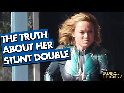 The TRUTH about Brie Larson's Stunt Double