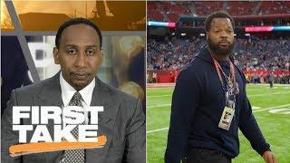 Stephen A. Smith thankful Michael Bennett is still alive | First Take | ESPN