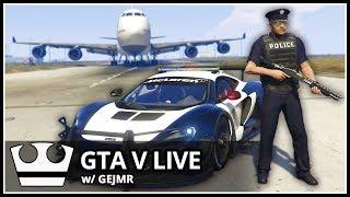 Jirka A GEJMR Hraje - GTA V Online - POLICIE [ LIVE ]