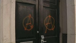 Antifa attacks GOP headquarters in NYC