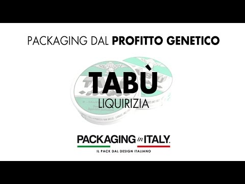 01 Packaging Profitto Genetico™ : Caramelle Tabù