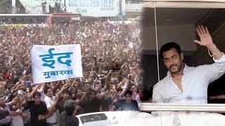 Salman Khan's CRAZY Fans Wishing Him Eid Mubarak