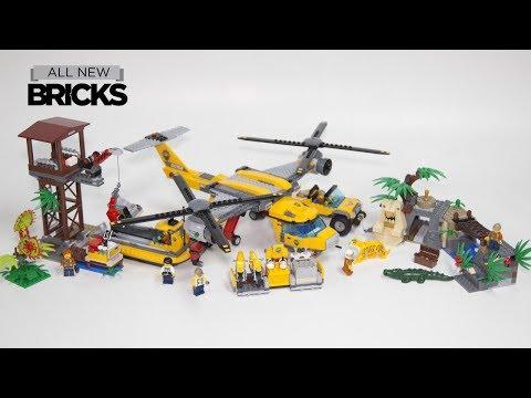 Vidéo LEGO City 60162 : L'installation du camp de base