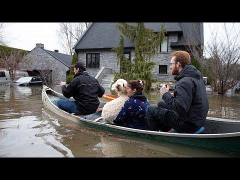 Καταστροφικές πλημμύρες στον Καναδά