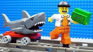 Lego Train Shark - Money Fail