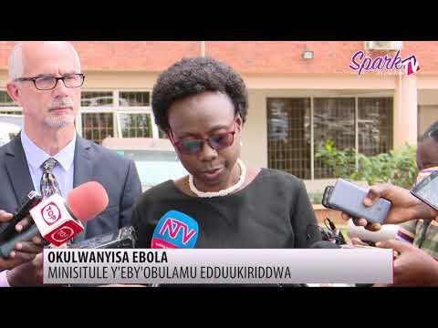 Uganda ekyali mu katyabaga k'ekirwadde kya Ebola