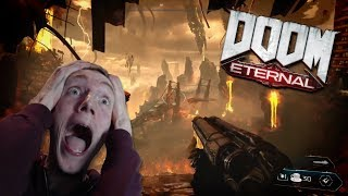Mr caffeine reacts to DOOM ETERNAL'S gameplay reveal