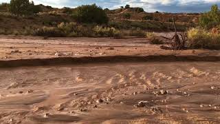 Severe thunderstorms and flash flooding in New Mexico