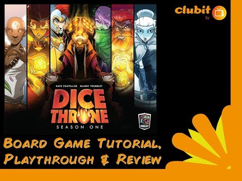 Dice Throne - tutorial, playthrough and review
