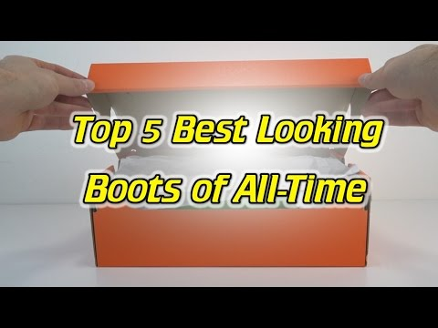 Top 5 Best Looking Soccer Cleats/Football Boots of All Time!
