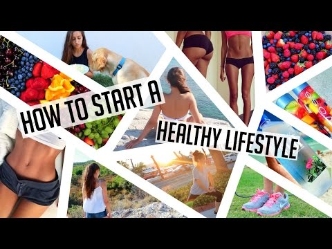 Video HOW TO START A HEALTHY LIFESTYLE! Get fit, stay organized, eat healthy ♥
