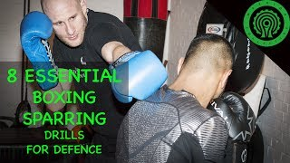 Boxing Sparring 8 Essential Defensive Training Drills Tutorial