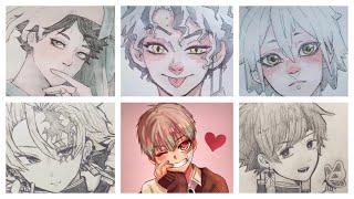 Mix Anime Art TikTok Drawing Challenge
