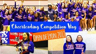 CHEERLEADING VLOG COMPETITION