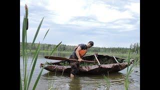 How To Build a Tarp Canoe