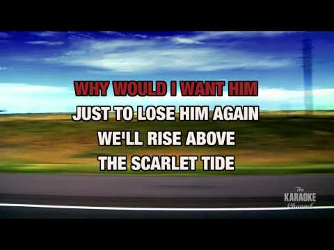 """The Scarlet Tide in the Style of """"Alison Krauss"""" with lyrics (no lead vocal)"""
