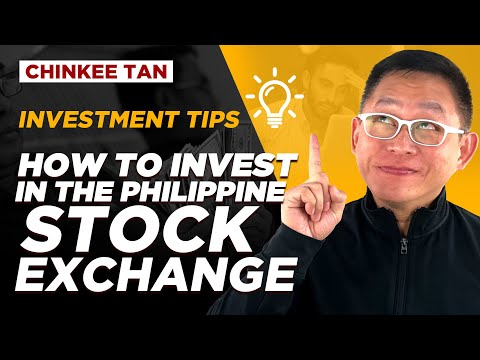 Investment tips: How to INVEST in the Philippine Stock Exchange
