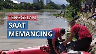 Bocah Berusia 10 Tahun Tenggelam di Sungai Brantas Diduga Tak Mahir Berenang