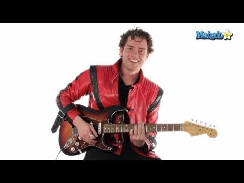 Learn to play Thriller on guitar * Part 2 *  Lead Guitar Lesson * Michael Jackson *