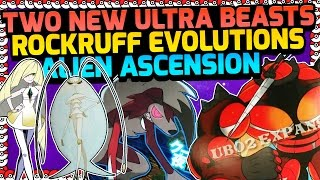 NEW ULTRA BEASTS, ROCKRUFF EVOLUTIONS AND ALIEN ASCENSION THEORY - Pokemon Sun and Moon!