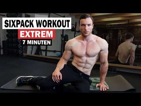 7 Minuten Sixpack Workout für Zuhause - Extrem Effektiv!   Sascha Huber