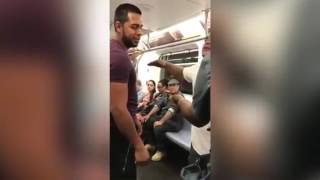Guy looking for fight with wrong person