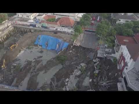 TERBARU: Video Jalan Raya Gubeng Ambles Tampak dari Atas