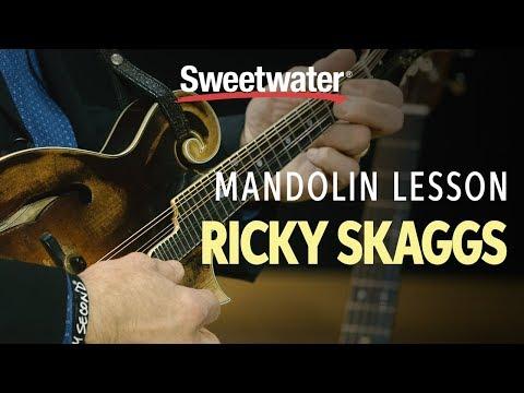 Ricky Skaggs Mandolin Lesson