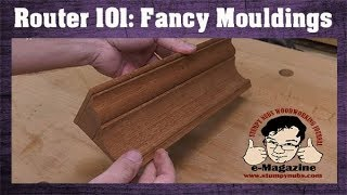 How To Make ANY Moulding With REGULAR Router Bits! (Crown Molding, Baseboards, Picture Frames, Etc)