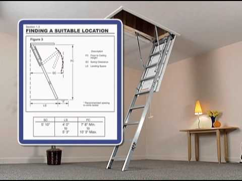 Aluminum Attic Ladder