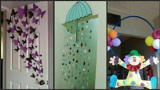 New Beautiful Walls & Door Decoration Ideas For Classroom & Schools