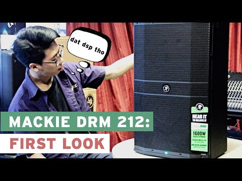 Mackie DRM 212: First Look and Launch of DRM Series