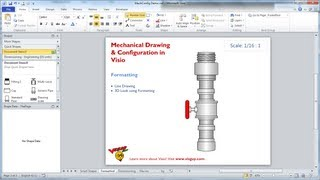 Mechanical Drawing & Configuration in Visio