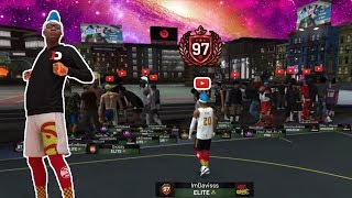 I RENTED A CUSTOM PARK TO HIT 97 OVERALL... NBA 2K19 PLAYSHARP..